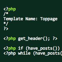 [WP]WordPressのページファイル(page.php)で個別にテンプレート名を付ける方法