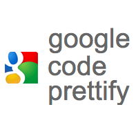 [JS]ソースコードをハイライト表示できる「Google Code Prettify」