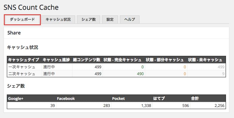 SNS シェア数をキャッシュして表示できる「SNS Count Cache」プラグイン