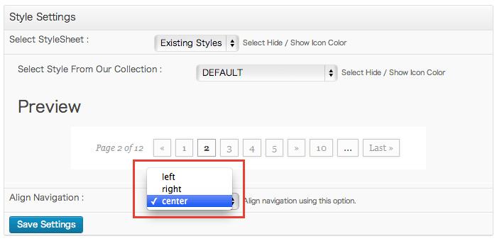 [WP]WP PageNavi によるページ送りのデザインは「WP PageNavi Style」が便利