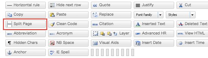 [WP]WordPressで記事にページ送りを付けて分割する方法