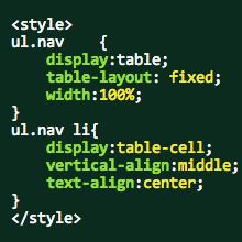 [CSS]要素を横並びに配置できる display:table-cell の基本的な使い方と注意点