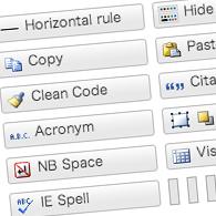 ビジュアルエディタ強化用のWordPressプラグイン「TinyMCE Advanced」