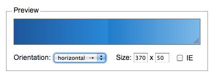 [CSS]CSS3 のグラデーション用ジェネレータ「Ultimate CSS Gradient Generator」が超便利