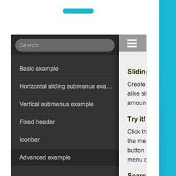 Js スマホアプリのように左右からメニューをスライド表示できるjqueryプラグイン Mmenu Webデザインのtipsまとめサイト ウェブアンテナ