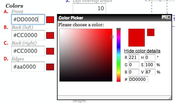 リボン風帯のHTML と CSS をWEB上で生成できる「3D Ribbon Generator」