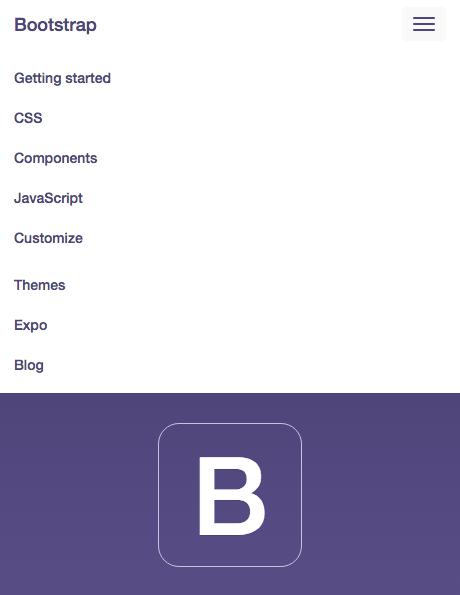 Bootstrap でリンククリック時にcollapseメニューを閉じる処理
