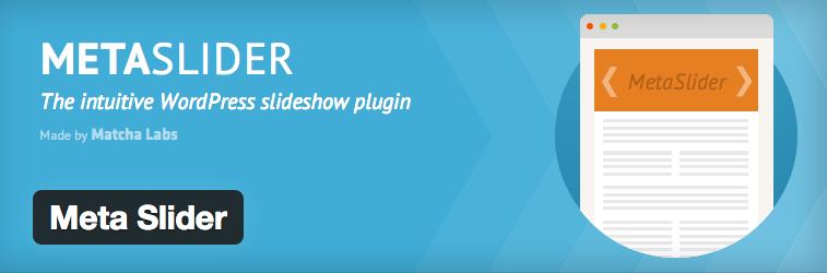 Flex Slider 他4つのスライダーが使えるWordPress プラグイン「Metaslider」