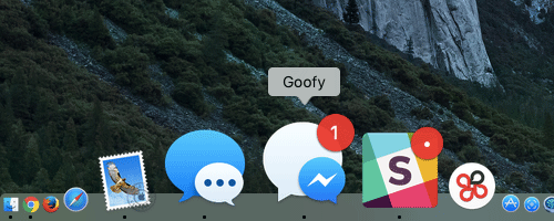 Facebook Messangerが使えるデスクトップアプリ GOOFY