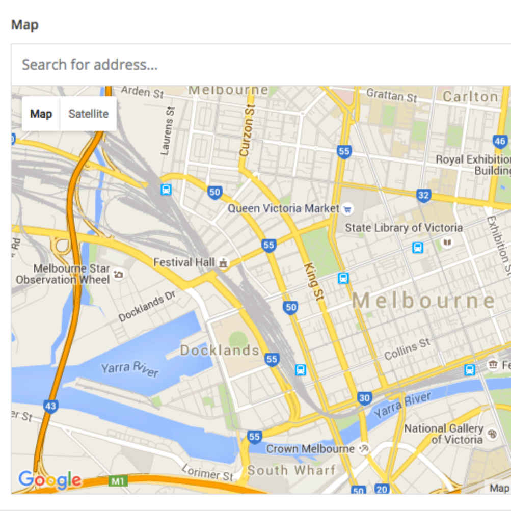 [WP]Advanced Custom FieldsのGoogle Mapを表示する方法