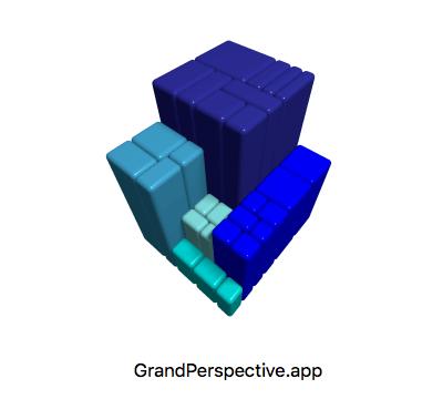 HDDで占有率が高いファイルを探して使用状況を可視化する「GrandPerspective」